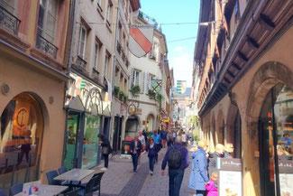 Straßburg, Elsaß, Frankreiche, Altstadt, Gassen, Die Traumreiser
