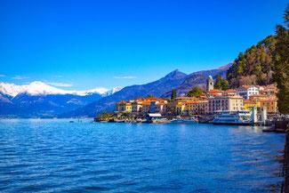 Comer See, Bellagio, Italien, Die Traumreiser