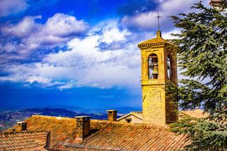 San Marino, Altstadt, Italien, Die Traumreiser