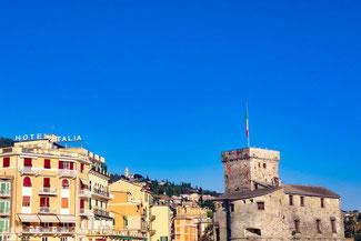 Italien, Italienische Riviera, Rapallo, Die Traumreiser