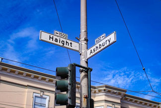 Haight & Ashbury, Hippies, San Francisco, Kalifornien, USA