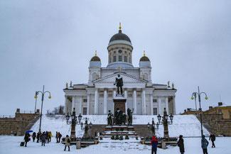 Helsinki, Finnland, Dom, Die Traumreiser