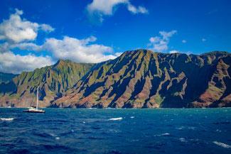 Napali Coast, Küste, Kauai, Hawaii, USA, Pazifik, Die Traumreiser