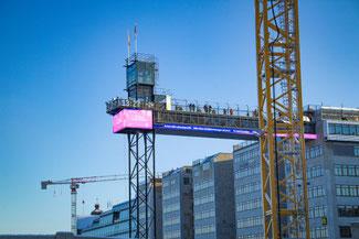 Stockholm, Schweden, Skandinavien, Die Traumreiser,  Aufzug