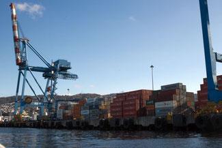 Hafen, Schiffe, Valparaiso, Südamerika, Chile, Die Traumreiser