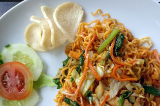 Mie Goreng, das Nationalgericht Indonesiens