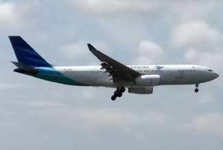 Garuda Indonesia, Flugzeug