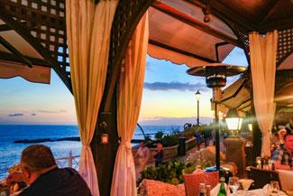 Teneriffa, Kanarische Inseln, Die Traumreiser, Playa del Duque, Restaurant Torre del Mirador