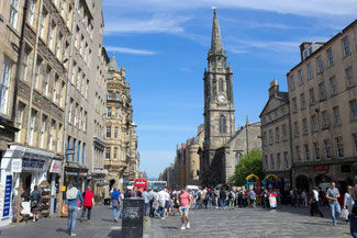 Edinburgh, Royal Mile, Schottland, Die Traumreiser