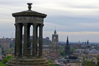 Edinburgh, Schottland, Die Traumreiser