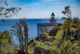 Italien, Italienische Riviera, Portofino, Hafen, Die Traumreiser, Leuchtturm