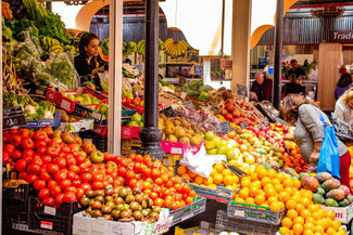 Teneriffa, Kanarische Inseln, Die Traumreiser, Santa Cruz, Markt, Mercado de Nuestra Senora de Africa