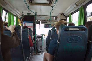 Bus, Busfahrt, Valparaiso, Südamerika, Chile, Die Traumreiser