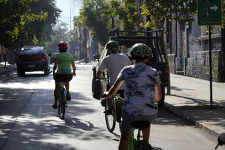 Radtour, La Bicicleta Verde, Santiago de Chile, Südamerika, Chile, Die Traumreiser