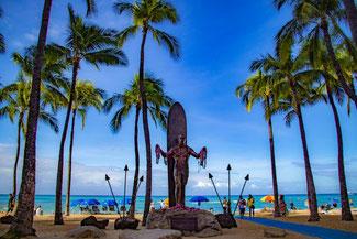 Waikiki Beach, Oahu, Hawaii, USA, Strand, Die Traumreiser