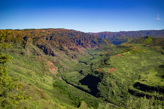 Waimea Canyon, Kauai, Hawaii, USA, Die Traumreiser,