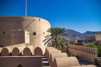 Oman, Arabien, Die Traumreiser, Nizwa, Oase, Wüste, Festung, Fort