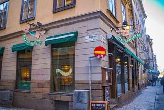 Stockholm, Schweden, Skandinavien, Die Traumreiser,  Slingerbulten, Restaurant