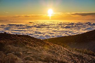 Teneriffa, Kanarische Inseln, Die Traumreiser, Teide, Vulkan, Sonnenuntergang