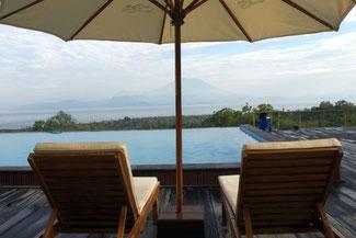 Aussicht auf den Mount Agung