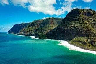 Polihale State Park, Beach, Strand, Kauai, Hawaii, USA, Die Traumreiser