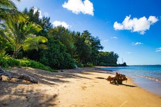 Anini Beach, Kauai, Hawaii, Nordküste, Die Traumreiser