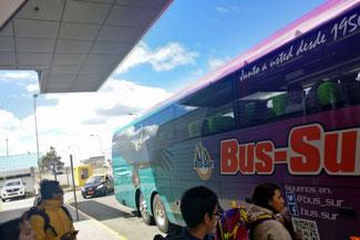 Bus, Bus Sur, Patagonien, Südamerika, Chile, Die Traumreiser