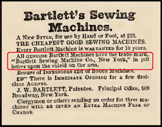February 1867 Advertisement