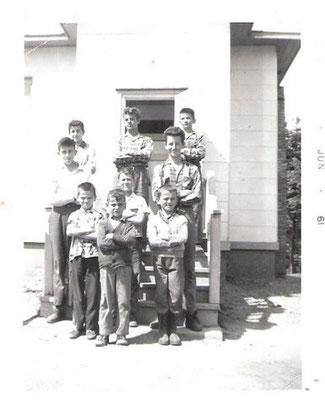 Les garçons en 1961