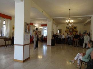 """""""15° ARTIversario"""" panoramica Salone delle Feste Circolo Sottoufficiali, Verona (scatto di Milena Cervini)"""
