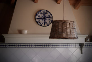 The importance of the kitchen in a traditional Tuscan house.