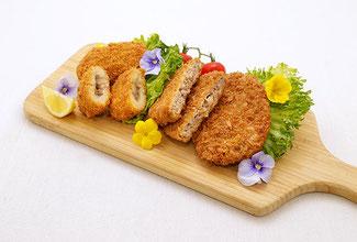 仙台牛コロッケ&仙台牛メンチカツ