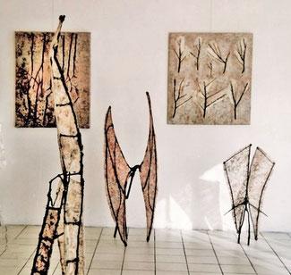 1999 - Portes ouvertes - Ateliers du 4, Argenteuil - Roman Gorski