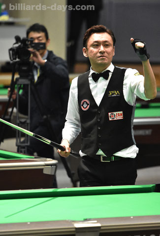 Tomoo Takano won 2018 All Japan C.S. for the first time.
