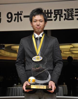 2011年7月10日・東京。優勝祝賀会にて