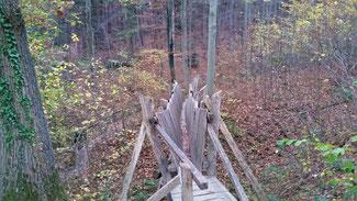 Eine Brücke für Dürre...