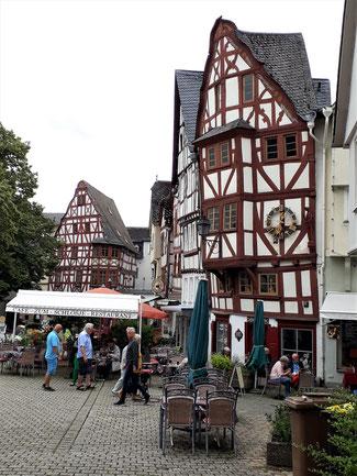 Blick in die Altstadt...