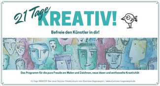 Lieber glücklich mit den Kreativkursen von Clarissa Hagenmeyer
