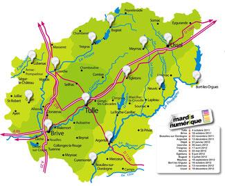 dates des mardis du numerique en Corrèze