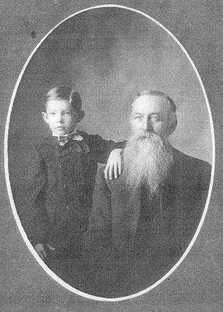 George Washington Stice, died in Walnut Grove, Illinois in 1917.  He was a Civil War veteran who had survived imprisonment at Andersonville Prison.