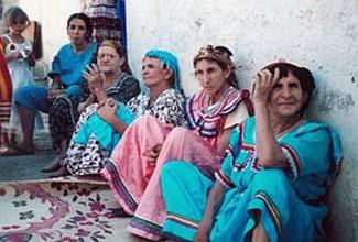 Femmes     Berberes de     Kabylie  ( Algérie ).
