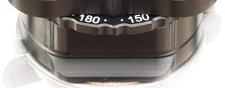 drehbare Winkelskala des pocketPANO VARIO Nodalpunktadapters