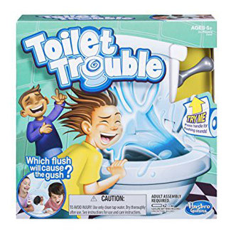 The Toilet Trouble game