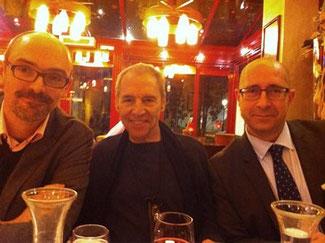 Jérôme Partage, Ben Sidran et Jean Szlamowicz, Paris (2013)