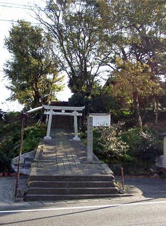駒越神社 鳥居
