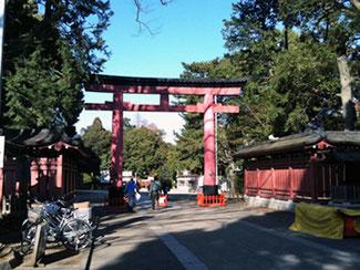 氷川神社 三の鳥居