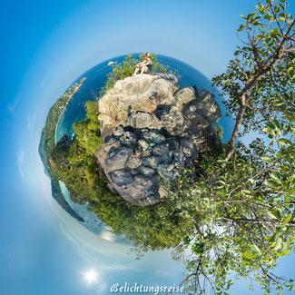 Kugelpanorama,  Thailand, Koh Tao, Viewpoint 180x360 Panorama
