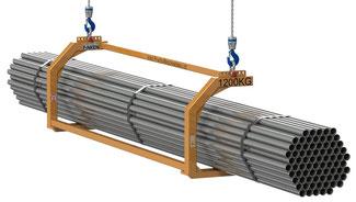 Finken Lastgabel für Langgut LG-1200 mit verstellbarer Kranhakenposition