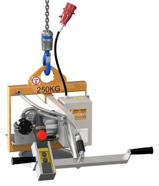 Finken Kompakt-Vakuumhebegerät VH 1-250 zum Heben von eigenstabilen Lasten bis 250 Kg