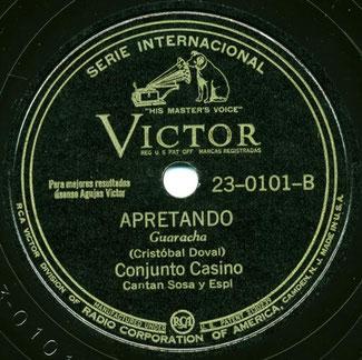 Apretando, canta Nelo Sosa - 1943.